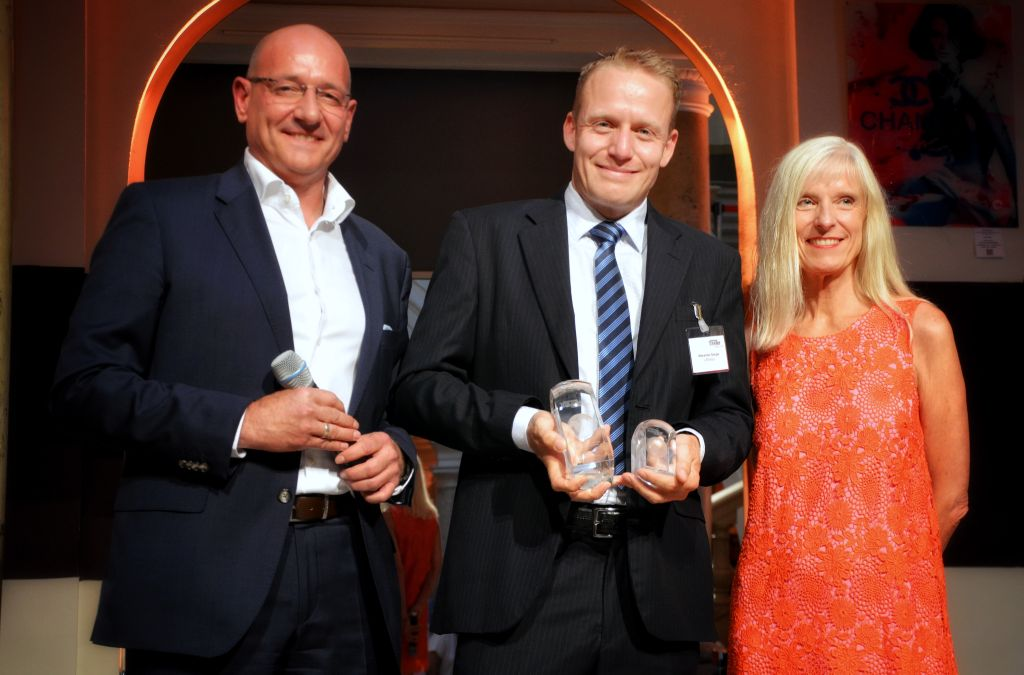 "The NewsMarket presented: ""Gold and bronze for the Lufthansa Group Airlines at this year's Business Traveller Awards"""