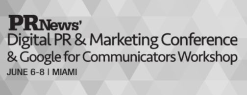 On June 6, PR News will host the Google for Communicators Workshop at the Ritz-Carlton South Beach in Miami, FL.
