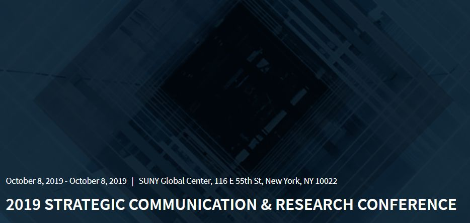 Senior and emerging corporate and brand communicators are invited to attend this strategic research conference co-sponsored by Cision, PRIME Research and the Institute for Public Relations.