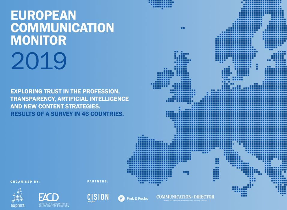 The editor of the eCCO Magazine would like to draw attention, that the IPR Research Letter informed the readers, that the European Public Relations Education and Research Association (EUPRERA) and the European Association of Communication Directors (EACD) published European Communication Monitor 2019 Report