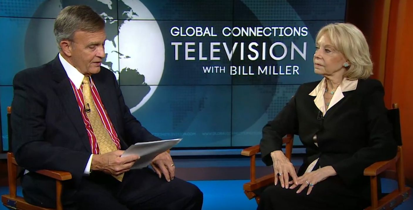 The editor of eCCO Magazine would like to draw readers' attention to the fact that Global Connections Television (GCTV) interviewed Nancy Prager-Kamel, the Chairwoman of the Association of Foreign Correspondents in the USA.