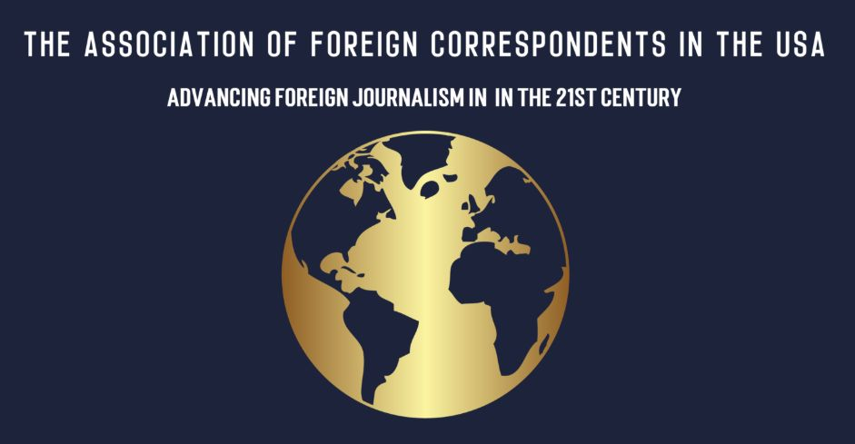 The Association of Foreign Correspondents in the United States provides annual scholarships to professional foreign journalists who are currently enrolled in any full-time master's level program of any U.S.- based academic institution.