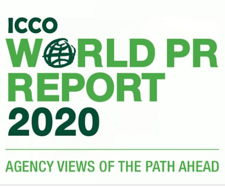 ICCO published the ICCO World PR Report 2020. Global agency heads are overwhelmingly optimistic about the growth of public relations, according to figures revealed in today's International Communications Consultancy Organisation (ICCO) World PR Report.