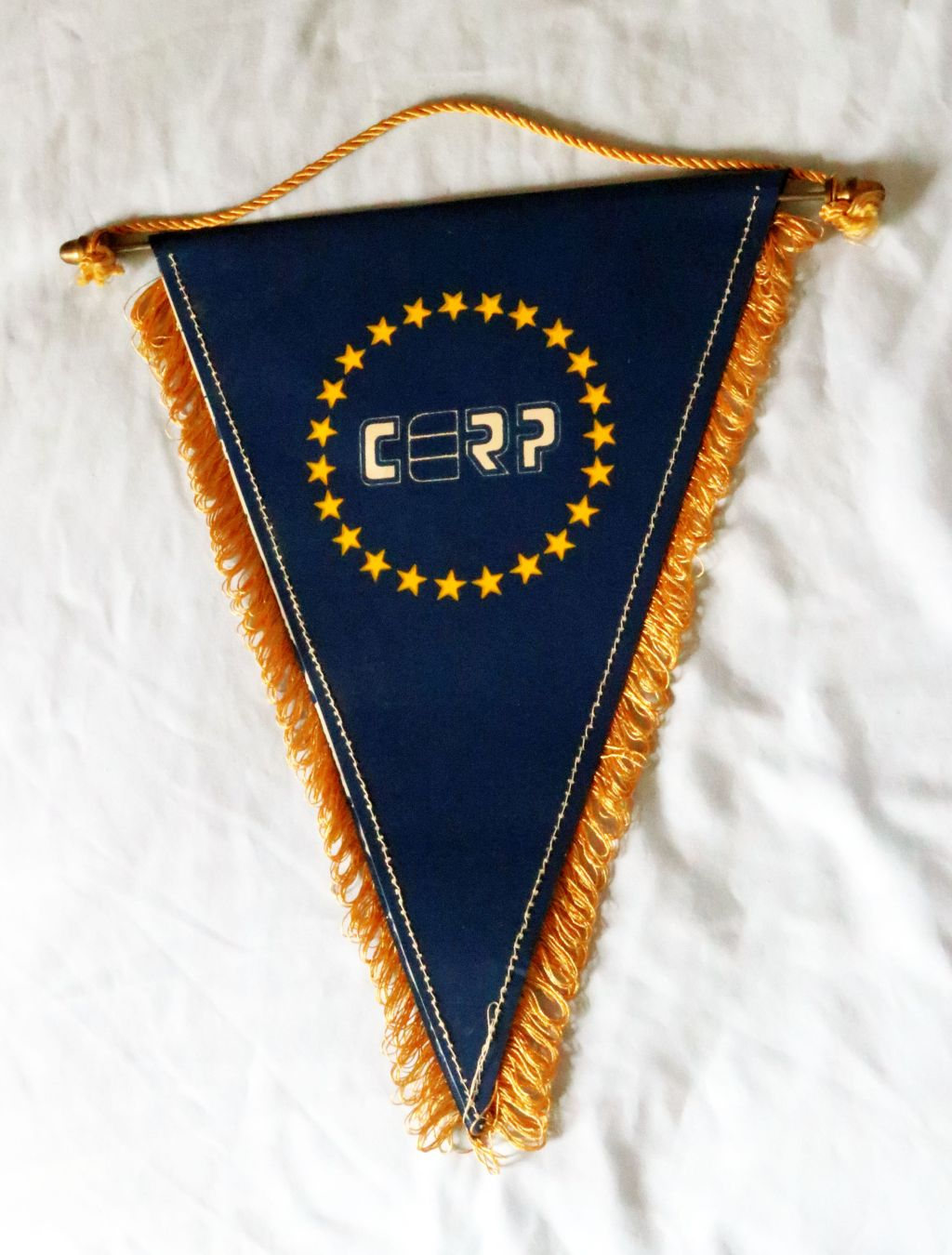 "The Museum received a flag of CERP (The CERP is the ""Confederation des European Relations Publiques"" – the European Public Relations Confederation), which has been used for professional events such as Council or Board Meetings."