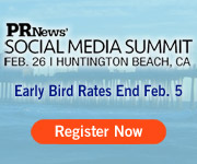 PR News has programmed a unique event 40 minutes outside of Los Angeles that combines social media, technology and interactive learning. The Social Media Summit on February 26 will connect communicators with the latest technology and tools to help them create successful campaigns and communications initiatives, and with digital communications leaders who will share the latest best practices in using the social media networks that matter most to their organizations and clients.
