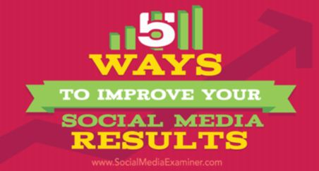 The editor of the CCO Magazine would like to call the attention of the CCO Magazine readers: 5 Ways to Improve Your Social Media Results - published by Social Media Examiner.