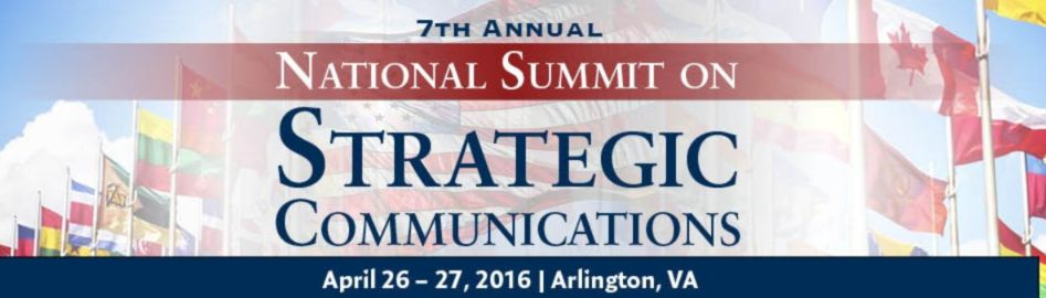 The CCO Magazin would like to call the attention of the readers: For the 7th consecutive year, the National Summit on Strategic Communications — #StratComms16 — will provide high-level yet practical content that is global in scope and strategic in focus.