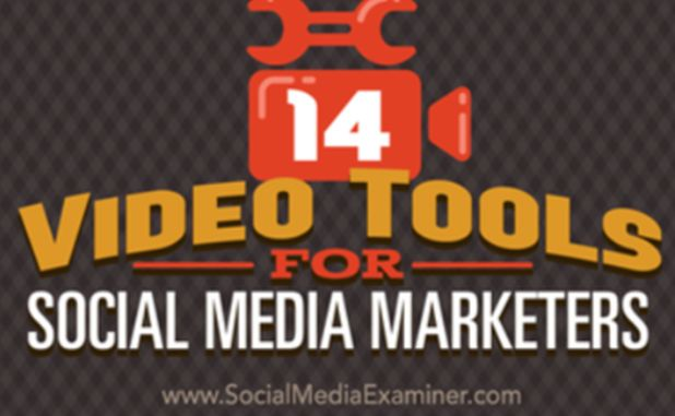 The editor of the CCO Magazine would like to call the attention of the CCO Magazine readers: 14 Video Tools for Social Media Marketers - published by Social Media Examiner.